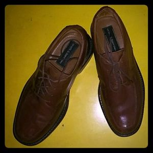 Croft and Barrow brown lace-up shoes